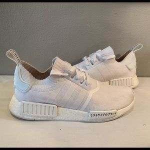 "Adidas NMD R1 ""Japan Triple White"" BZ0221"